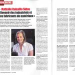 Article de presse Recyclage Récupération Nathalie Debaille Sidos juin 2014