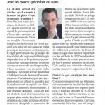 Interview Carl Enckell Environnement magazine 31-08-15